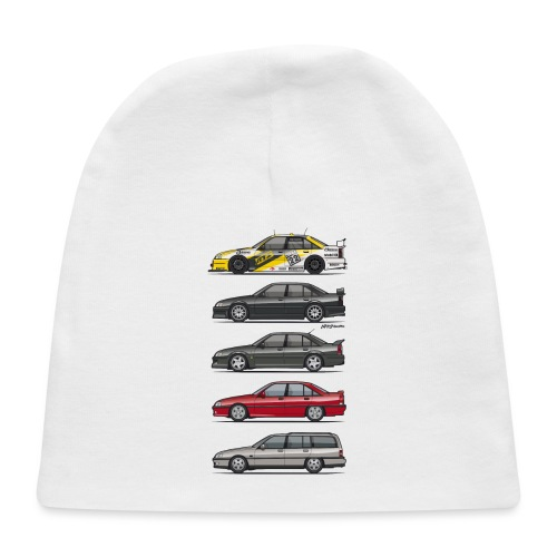 Stack of Opel Omegas / Vauxhall Carlton A - Baby Cap