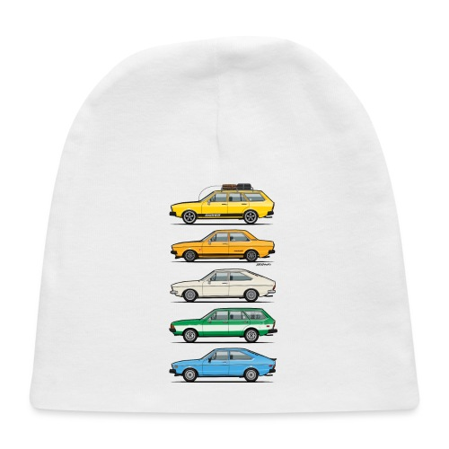 Stack of VAG B1 VDubs and Four Rings - Baby Cap