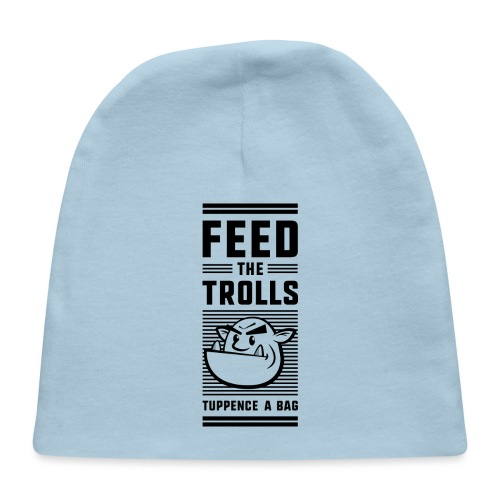 Feed the Trolls Baby One-Piece Snapsuit - Baby Cap