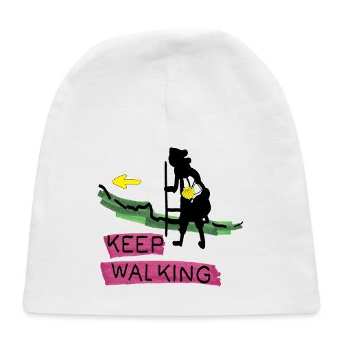 Keep walking buen camino sc t ss - Baby Cap