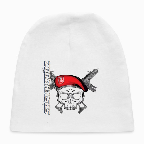saskhoodz skull - Baby Cap