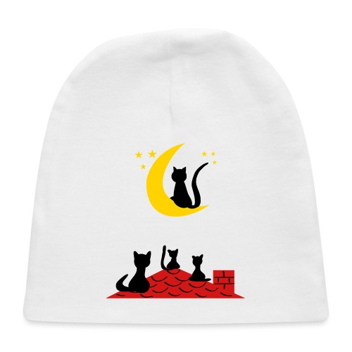 Cats on the roof - Baby Cap
