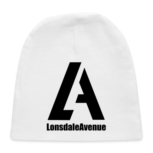 Lonsdale Avenue Logo Black Text - Baby Cap