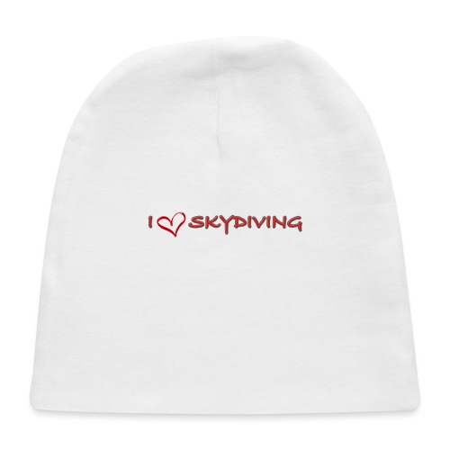 I love skydiving T-shirt/BookSkydive - Baby Cap