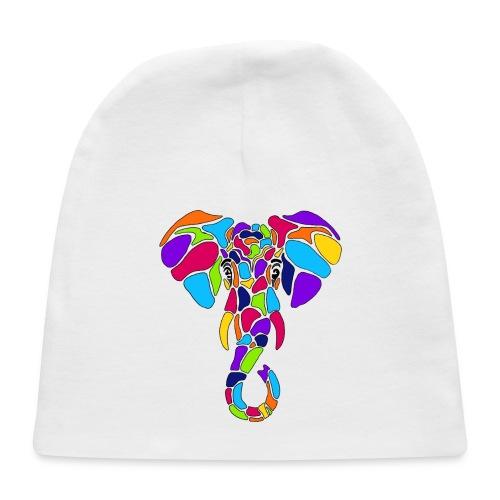 Art Deco elephant - Baby Cap