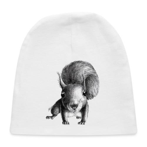 Cute Curious Squirrel - Baby Cap