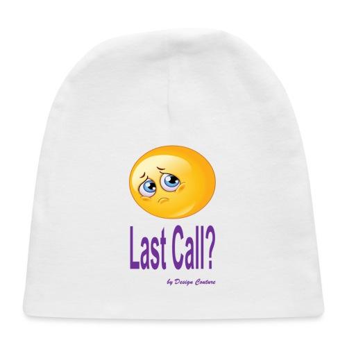 LAST CALL PURPLE - Baby Cap