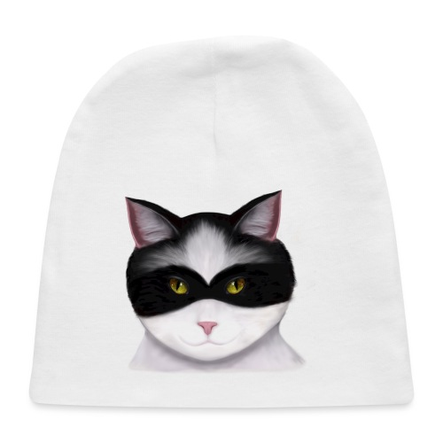 I am called the Masked Cat - Baby Cap