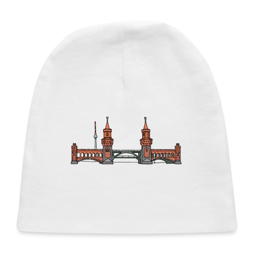 Oberbaum Bridge Berlin - Baby Cap