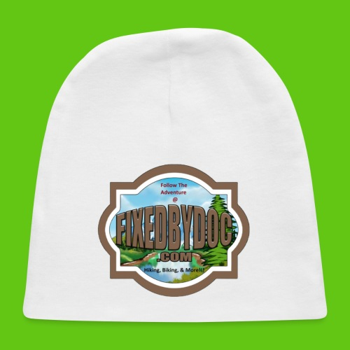 New FBD logo with words and clear background - Baby Cap