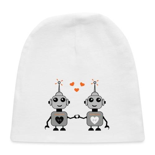Robot Couple - Baby Cap
