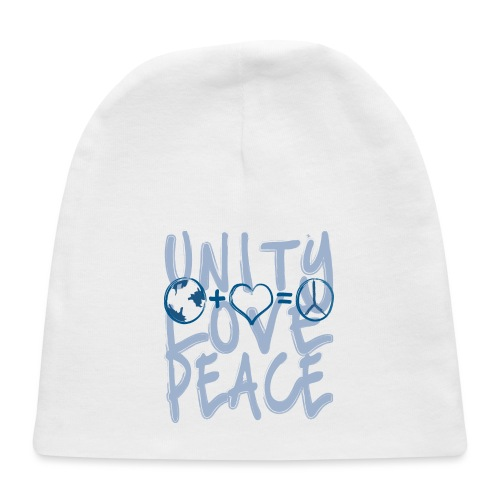 Unity Love Peace - Baby Cap