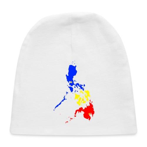 Philippines map art - Baby Cap