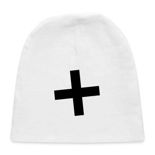 Plus Brandmark Black - Baby Cap