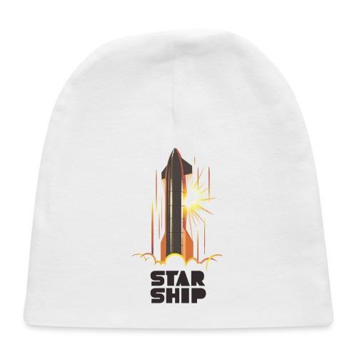 Star Ship Mars - Light - Baby Cap