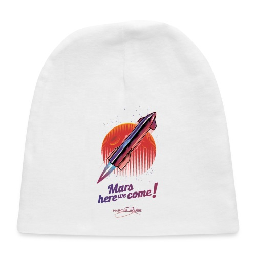 Mars Here We Come - Light - With Logo - Baby Cap