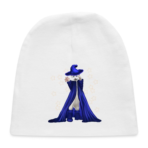 Cat Wizard with Stars - Baby Cap