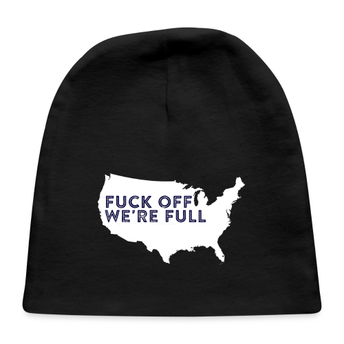 We're Full - Baby Cap