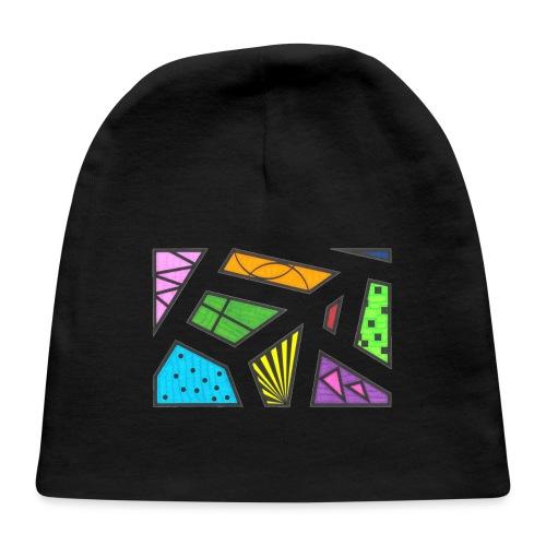 geometric artwork 1 - Baby Cap