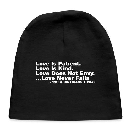Love Bible Verse - Baby Cap