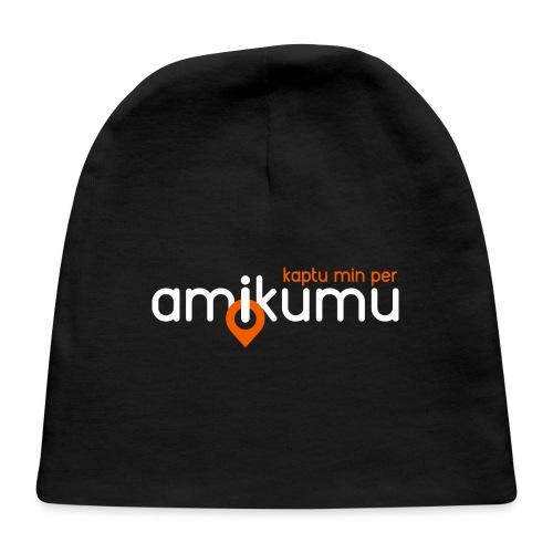 Kaptu min per Amikumu Blanka - Baby Cap