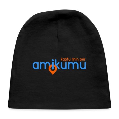 Kaptu min per Amikumu Blua - Baby Cap