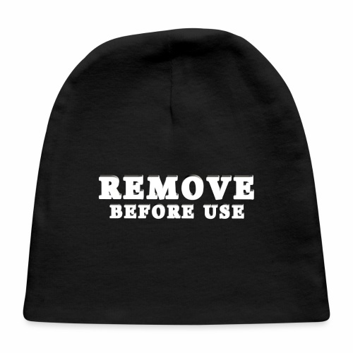 Remove Before Use for dark - Baby Cap