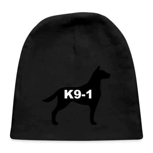 k9-1 Logo Large - Baby Cap