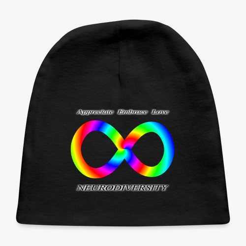 Embrace Neurodiversity with Swirl Rainbow - Baby Cap