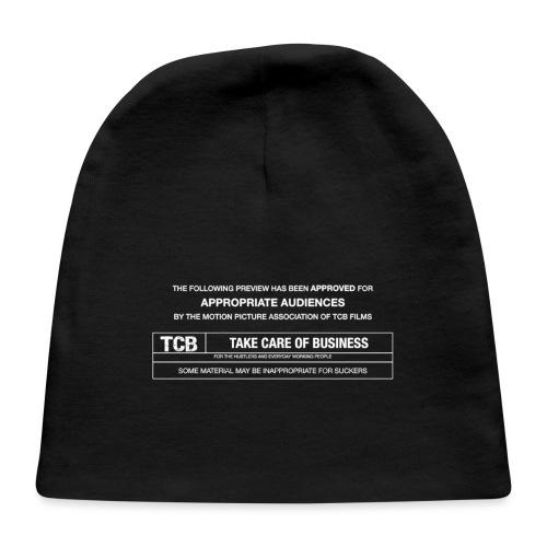 TCB Films Disclamer - Baby Cap