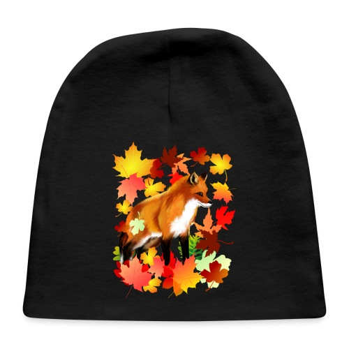 A FOX in FALL - Baby Cap