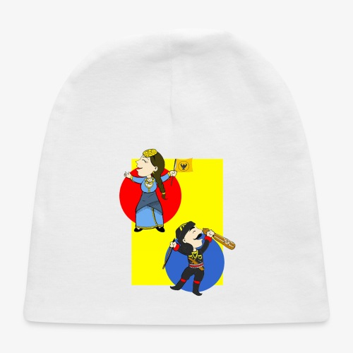 Cartoon - Pontios/lyra & Pontia/flag - Baby Cap