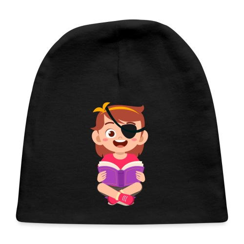 Little girl with eye patch - Baby Cap