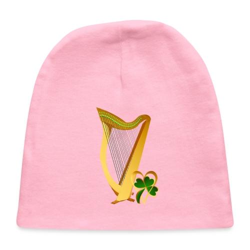 Celtic Irish gold Harp - Baby Cap