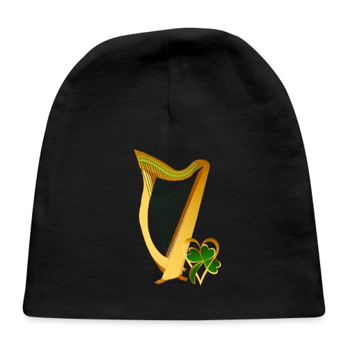 Celtic Irish gold Harp - Baby Cap