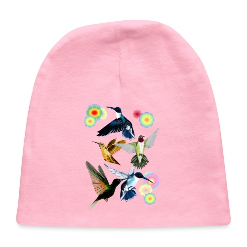 For The Love Of Hummingbirds - Baby Cap