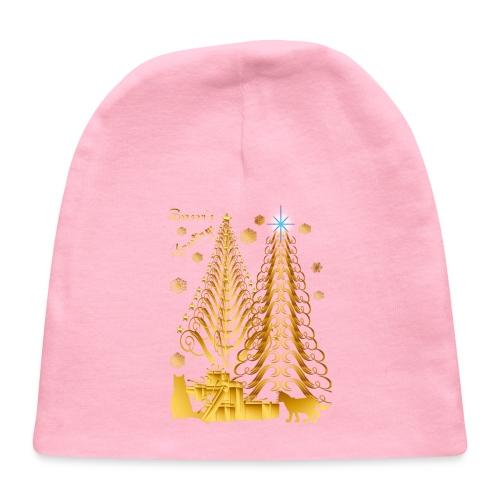 Golden Presents-Gold Kitties - Baby Cap