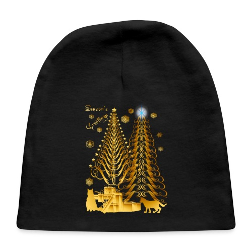 Golden Presents-Gold Kitties - Baby Cap