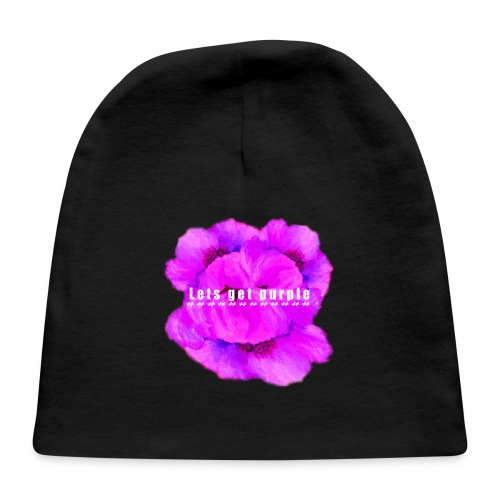 lets_get_purple_2 - Baby Cap