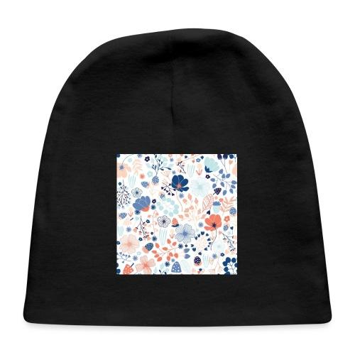 flowers - Baby Cap