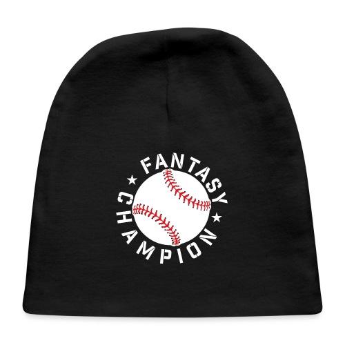 Fantasy Baseball Champion - Baby Cap