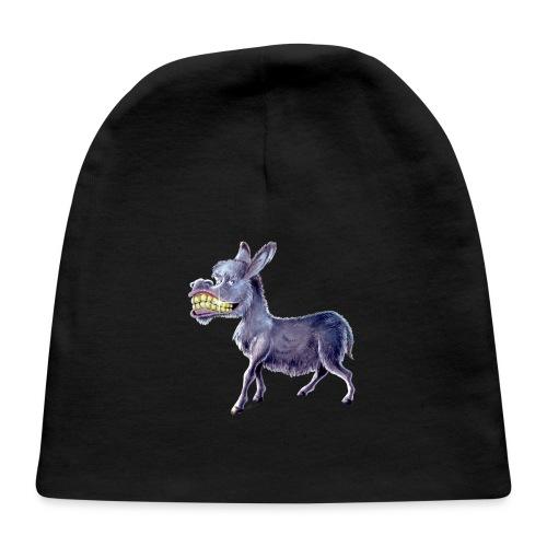 Funny Keep Smiling Donkey - Baby Cap
