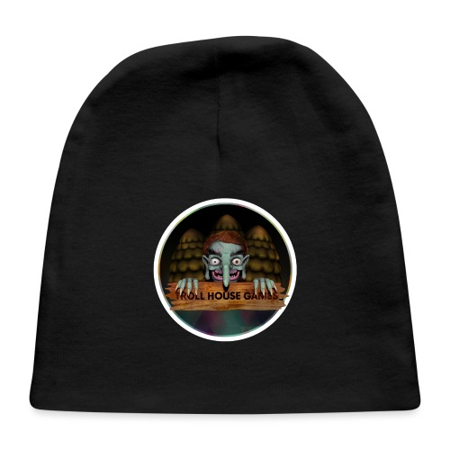 Troll House Games Logo - Baby Cap