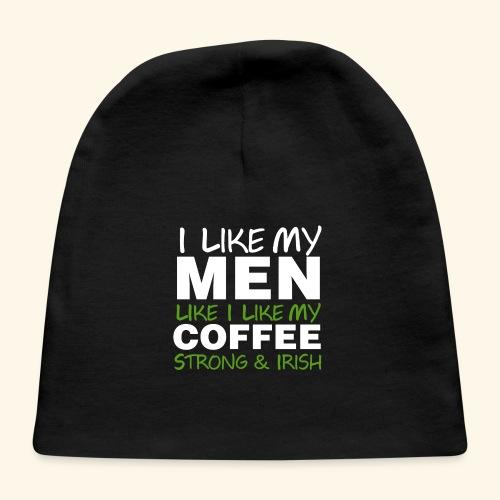 Funny Coffee T Shirts for Men, Women, Kids, Babies - Baby Cap