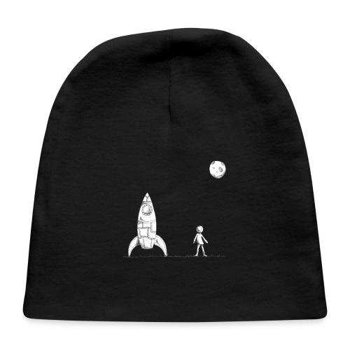 rocket to the moon - Baby Cap