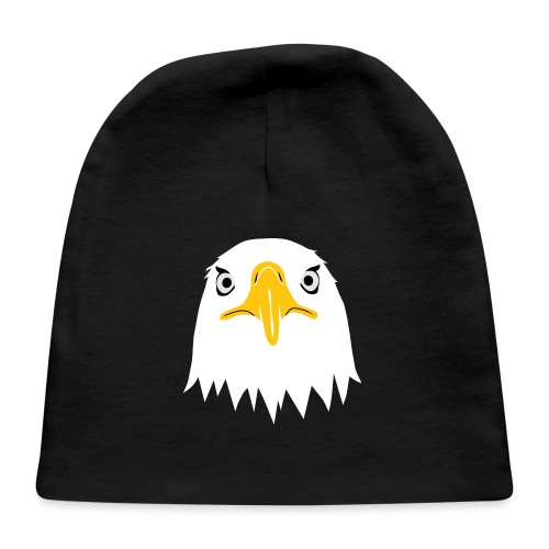bald eagle american head funny big brother - Baby Cap