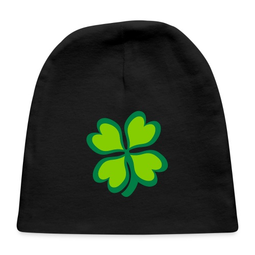4 leaf clover - Baby Cap