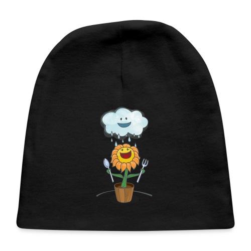 Cloud & Flower - Best friends forever - Baby Cap