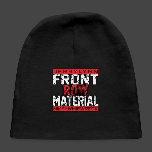 Front Row Material Logo - Baby Cap