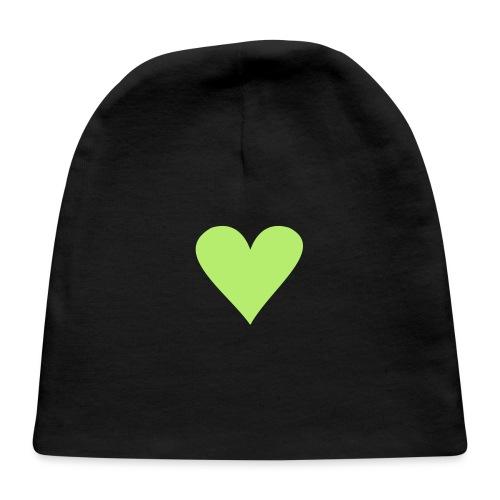 black heart - Baby Cap